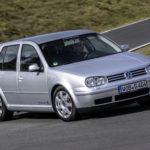Шоркающий звук при движении задом VW Golf 4