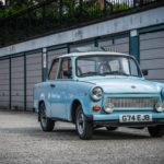 У него небыло бензонасоса, а кузов собирали из того, что было - Trabant 601