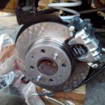 Задние дисковые тормоза на Классику
