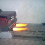 Огонь из выхлопной трубы - как это делают?